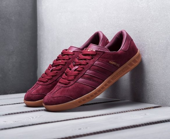 Adidas Hamburg бордовые