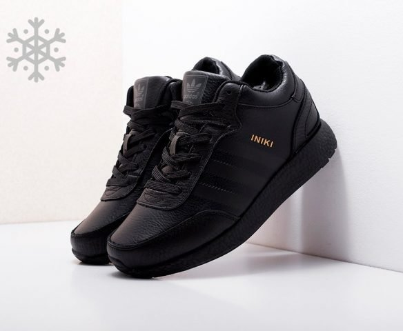 Adidas Iniki Runner Boost leather black