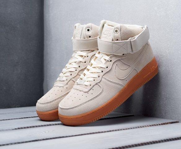 Nike Air Force 1 бежевые
