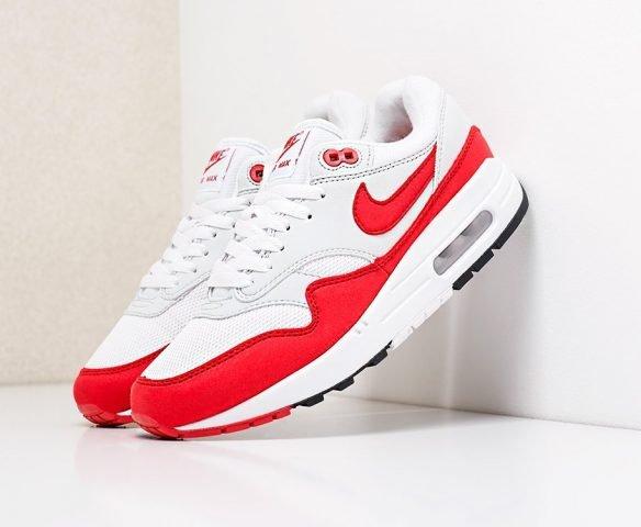 Nike Air Max 1 white-red