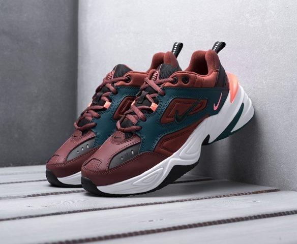 Nike M2K TEKNO бордовые