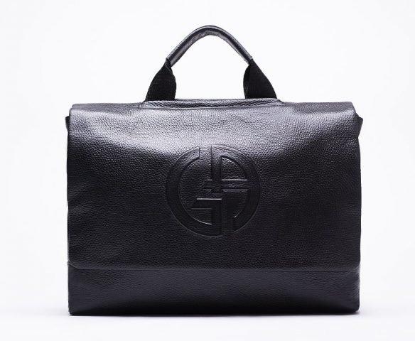 Сумка Armani leather black