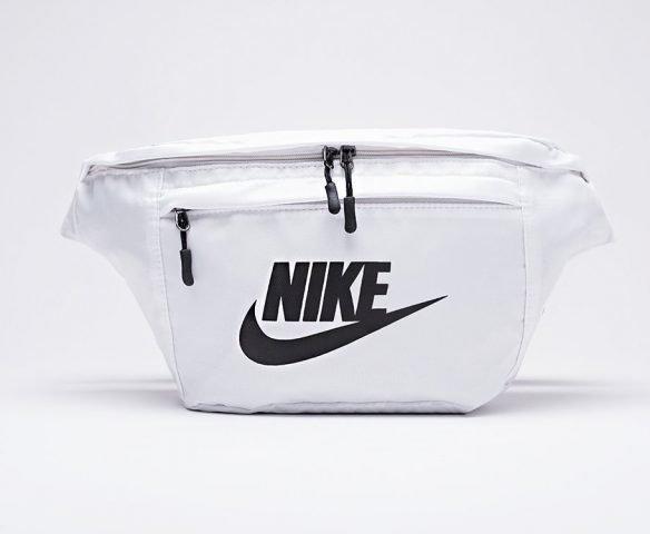Сумка Nike поясная белая
