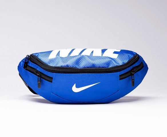 Сумка Nike поясная синяя