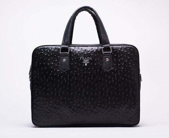 Сумка Prada leather black