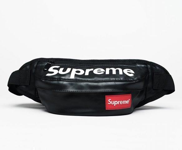 Сумка Supreme leather black