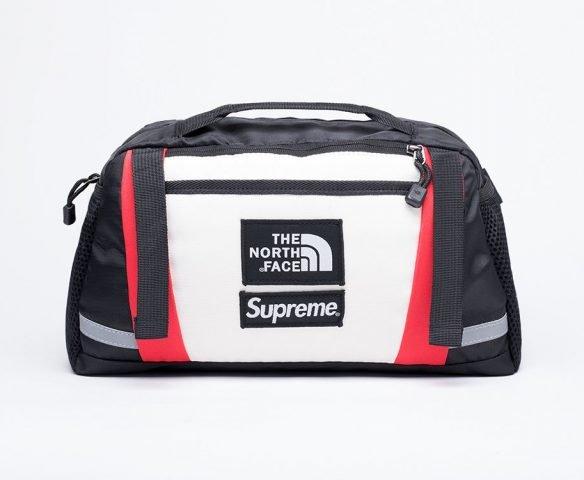Сумка Supreme x The North Face black-white
