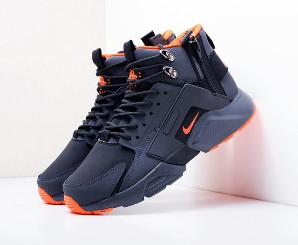 ACRONYM x Nike Air Huarache black-orange