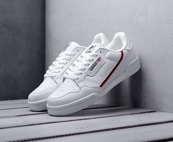 Adidas Continental 80 белые