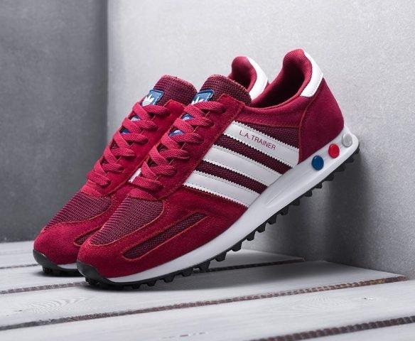 Adidas LA Trainer красные