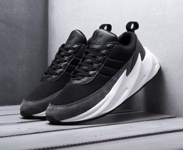 Adidas Sharks бело-черные