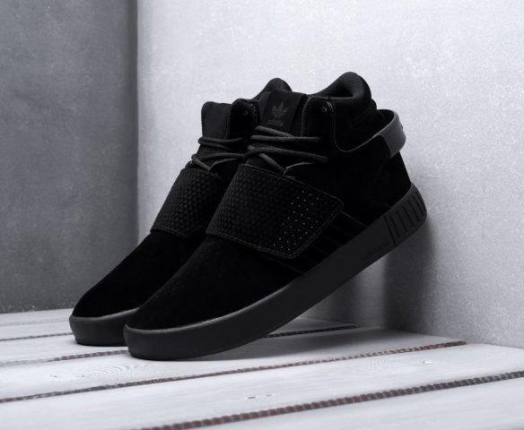 Adidas Tubular Invader Strap черные