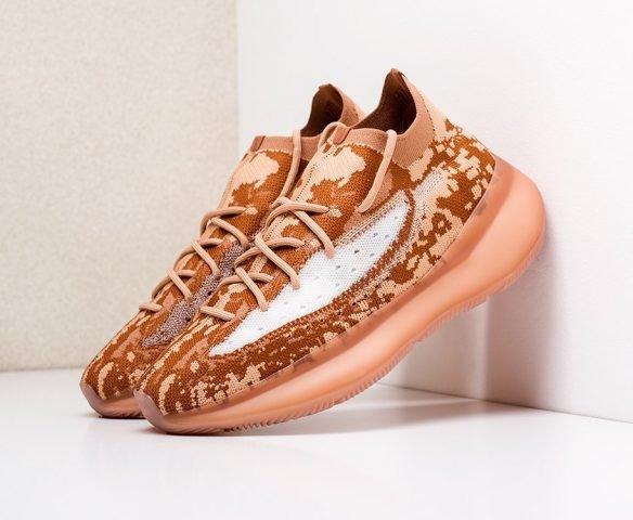 Adidas Yeezy 380 оранжевые