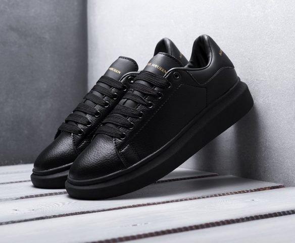 Alexander McQueen Lace-Up Sneaker черные