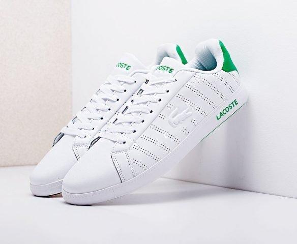 Lacoste белые с зеленым