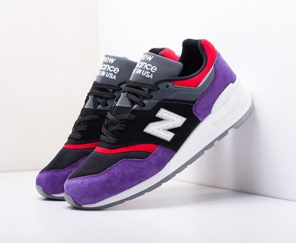 New Balance 997 black-purple