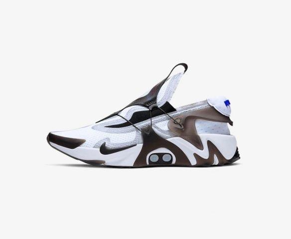 Nike Adapt Huarache white-black