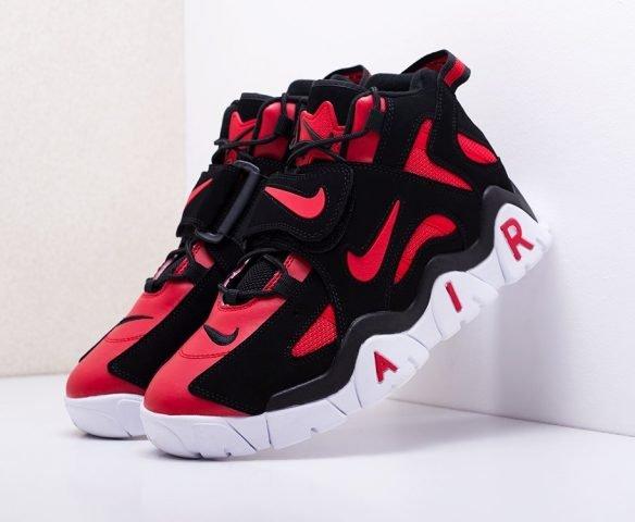 Nike Air Barrage Mid черно-красные