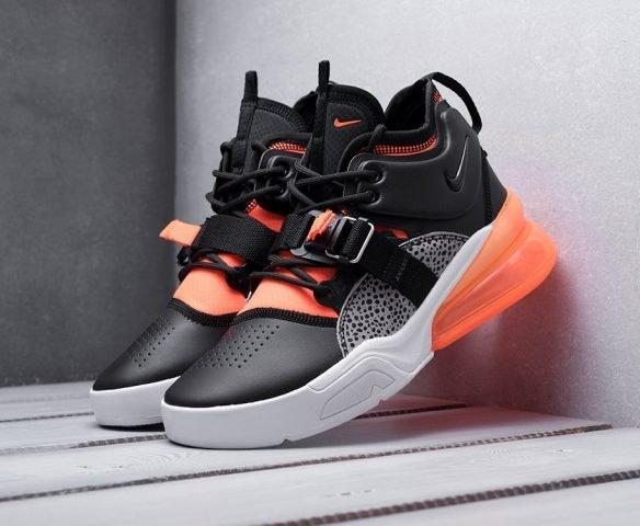 Nike Air Force 270 оранжево-черные