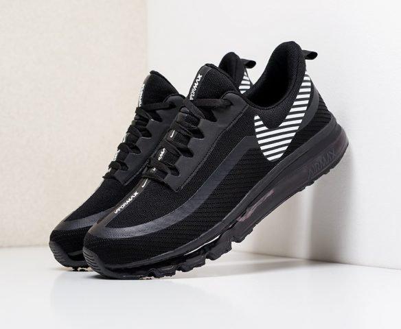 Nike Air Max 2019 черные с белым
