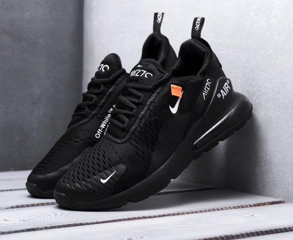 Nike Air Max 270 black (черные)