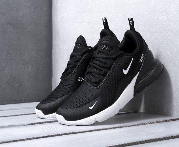 Nike Air Max 270 бело-черные