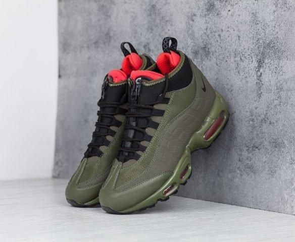 Nike Air Max 95 Sneakerboot зеленые