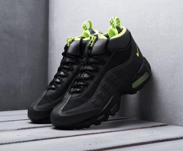 Nike Air Max 95 Sneakerboot black-green