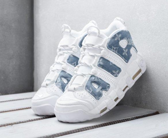 Nike Air More Uptempo белые