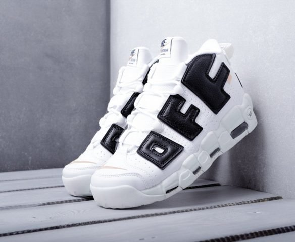 Nike Air More Uptempo x Off-white белые