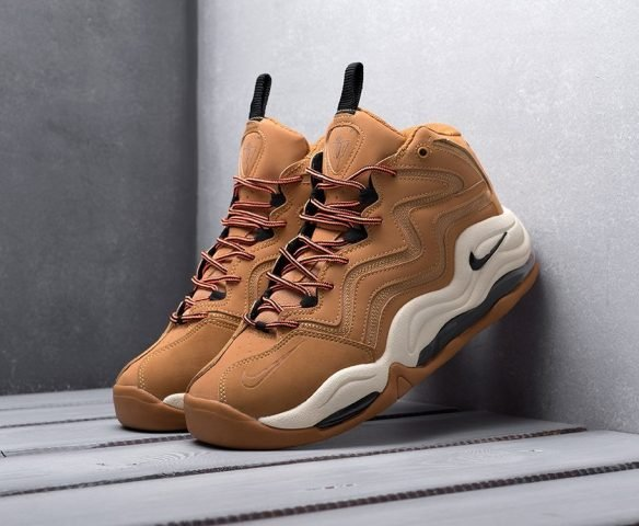 Nike Air Pippen 1 коричневые