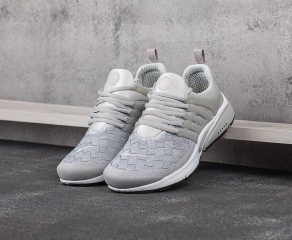 Nike Air Presto SE Woven серые