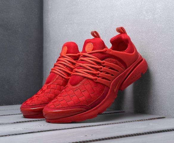 Nike Air Presto SE Woven красные