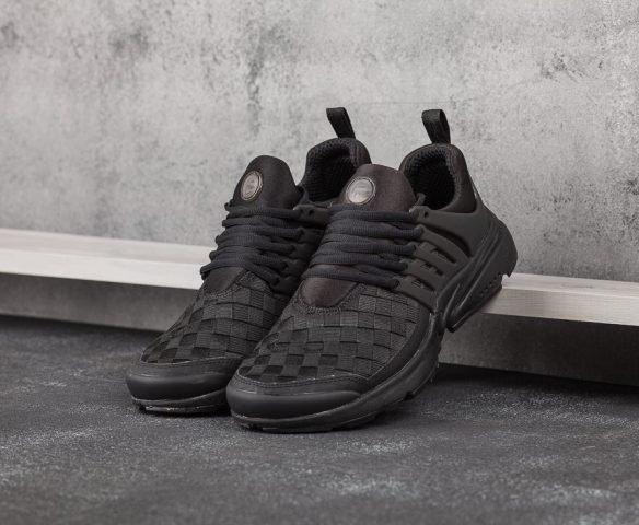 Nike Air Presto SE Woven черные