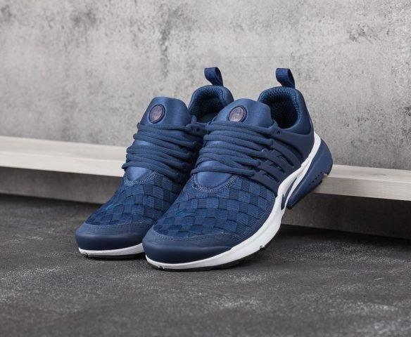 Nike Air Presto SE Woven синие