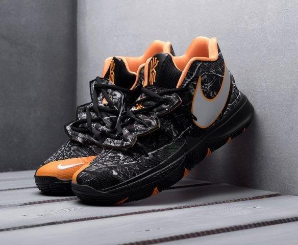 Nike Kyrie 5 Taco PE Black and Orange