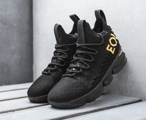 Nike Lebron XV черные