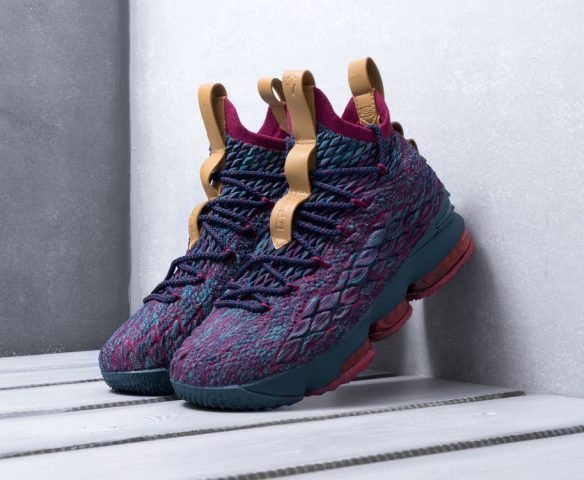 Nike Lebron XV разноцветные