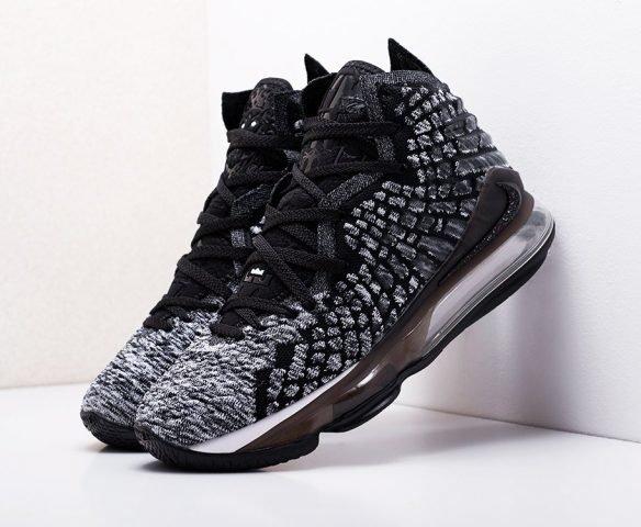 Nike Lebron XVII серые