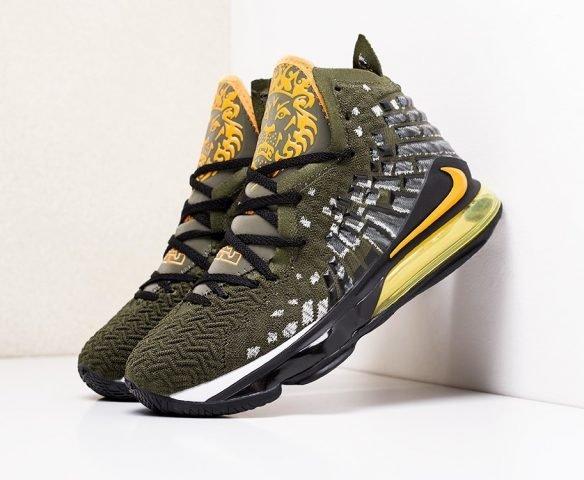 Nike Lebron XVII зеленые