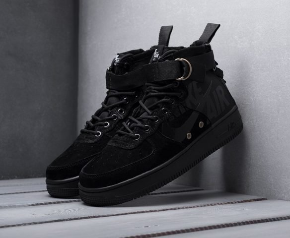 Nike SF Air Force 1 Mid black