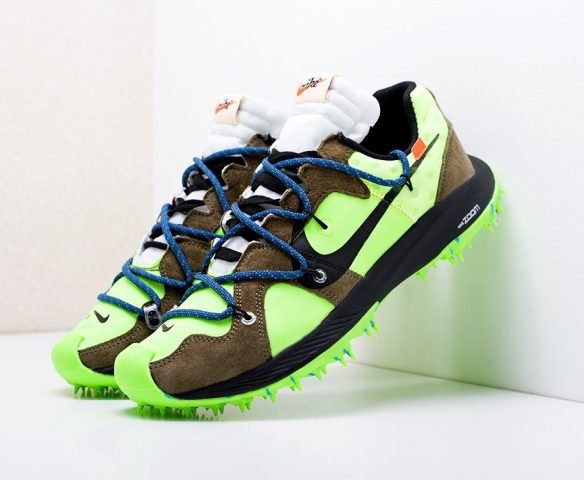 Nike x Off-White Zoom Terra Kiger 5 зеленые