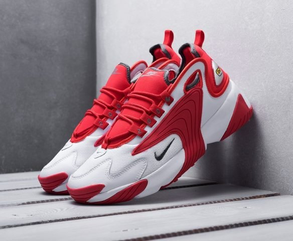 Nike Zoom 2K красные с белым