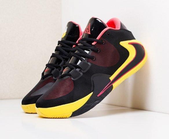 Nike Zoom Freak 1 желто-черные