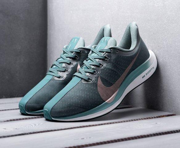 Nike Zoom Pegasus 35 Turbo зеленые