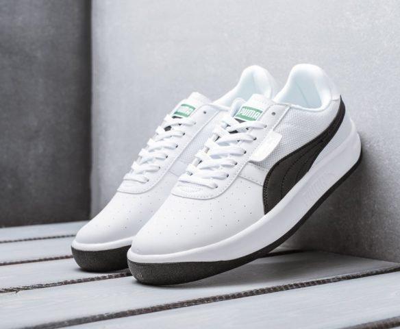 Puma California Vintage белые