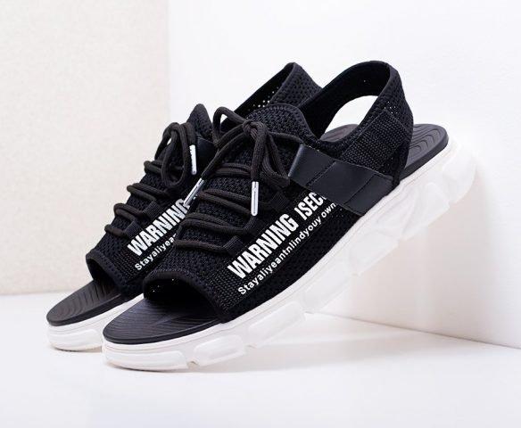 Сандалии Fashion черные