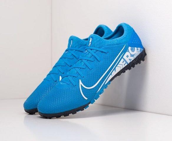 Футбольная обувь NIke Mercurial Vapor XIII Pro ЕА blue
