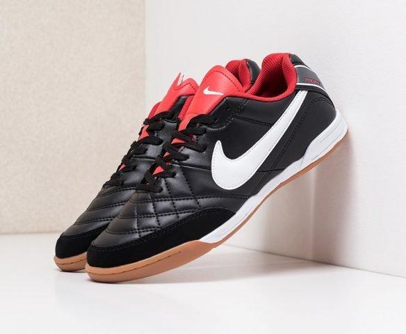 Футбольная обувь Nike Tiempo black