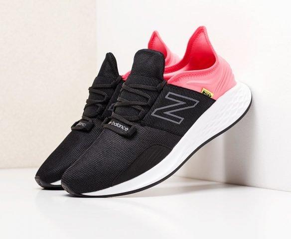 New Balance Fresh Foam Roav pink black